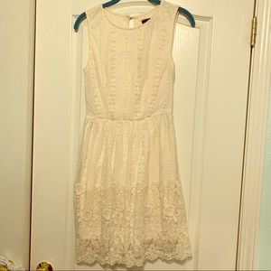 Ivory White Lace Dress